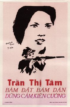 Tran Thi Tam: Courageous & Steady, Clings to Land & To People