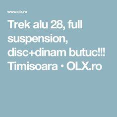 Trek alu 28, full suspension, disc+dinam butuc!!! Timisoara • OLX.ro