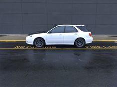 2005 Saab 92x Aero in matte white dip. Shadow Black hood and roof. (dipyourcar.com)