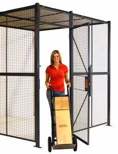 Tool Cribs & Wire Partition Tool Storage Cages for Industrial Equipment Storage | WireCrafters