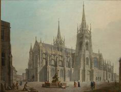 Ludvik Kohl 1814 St Vitus. Národní galerie v Praze