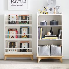 Pottery Barn Kids offers kids & baby furniture, bedding and toys designed to delight and inspire. Create or shop a baby registry to find the perfect present. Playroom Storage, Bookcase Storage, Shelving, Lp Storage, Record Storage, Book Storage Kids, Creative Toy Storage, Modern Baby Furniture, Kids Furniture