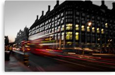 """""""Westminster Lights"""" Canvas Prints #decoration #decoración #gifts #london  Size: 45,7 cms x 29,9 cms Price: €74,88"""