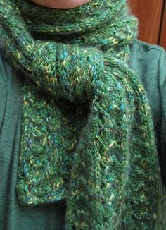 This has been our top downloaded free pattern. The Peacock Scarf.
