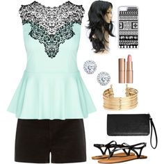 Untitled #271 by kheuchert on Polyvore featuring polyvore, мода, style, City Chic, Fergalicious, Avenue, H&M, Kobelli, CellPowerCases and Charlotte Tilbury
