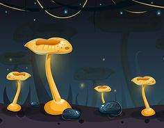 """Check out new work on my @Behance portfolio: """"Seamless cartoon nature landscape…"""