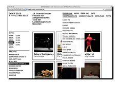 Dance Website by Verena Hennig