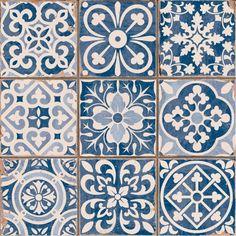Zagora Glazed Ceramic 33cm x 33cm