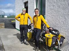 Meet Lowell and Ellen from Ohio, USA who have visited EVERY country in Western Europe on their Tandem Bike (excluding Denmark - next on the list!). They spent the weekend at the Lakeside Caravan and Campsite and are now heading north further into Donegal!