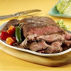 Ancho Chili-rubbed Flank Steak (via www.foodily.com/r/gJV91ZTzXa)