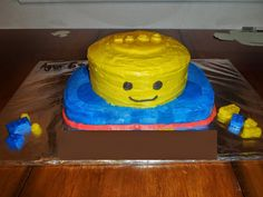 2nd Generation Allergy Mom - Lego themed birthday cake Free of egg, peanut, tree nut, soy, fish and shellfish (the last two are probably obvious with cake).  It would also be dairy free, if not for the frosting.