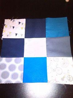 9 square patchwork