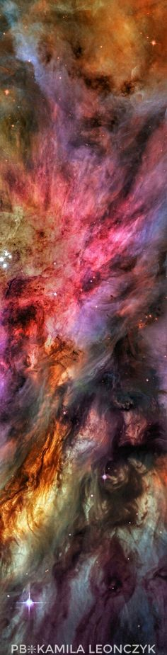 Dust, Gas, and Stars in the Orion Nebula   Image Credit: NASA, ESA, Hubble, HLA; Reprocessing & Copyright: Jesús M.Vargas & Maritxu Poyal