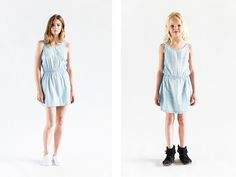 SS16: Like mother, like daughter « I dig denim Sid + Zoe denim dress