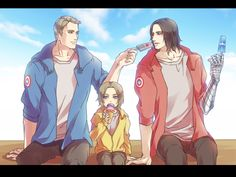 THEY HAVE A FAMILY!!!!! THIS IS TOOO CUTE LOOK AT LITTLE BUCKY JR HES SOOO CUTE THEY MAKE WONDERFULL BABIES