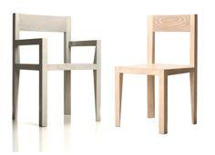 DI/SEGNO è una linea di sedute composta da una sedia con bracciolo e una senza, che per la chiarezza e la linearità delle sue forme è utilizzabile in molti contesti sia residenziali che di servizi.