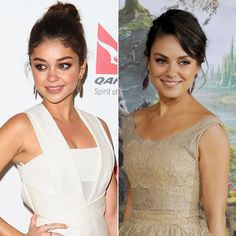 Pin for Later: These Celebrity Look-Alikes Will Blow Your Mind Sarah Hyland and Mila Kunis