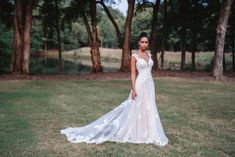 9816 by Allure Bridals- Whimsical and romantic details combine with illusion netting for a soft neckline and a delicate lace train Bridal Dresses, Girls Dresses, Flower Girl Dresses, Bridesmaid Dresses, Mori Lee Bridal, Allure Couture, Bridal Reflections, Designer Wedding Gowns, Bridal And Formal