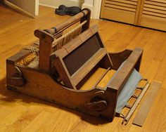 Old table loom
