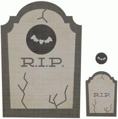 Silhouette Design Store: headstone