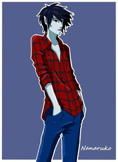 Why can't Marshall Lee be real? :-( Art by by Nanaruko.devianta... on @deviantART