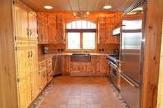 Board and Batten kitchen cabinets