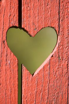 How about cutting a few hearts in part of your fence. Adorable!