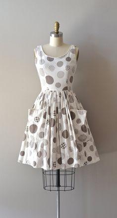 cotton 50s dress
