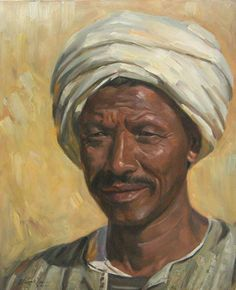 waleed yasin Egyptian born on August 27 1961 Middle Eastern Art, Arabian Art, Egypt Art, Cairo Egypt, Pastel Portraits, Old Art, Art Fair, Portrait Art, African Art