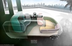 Car Interior Design, Interior Rendering, Interior Sketch, Interior Concept, Airplane Interior, Car Design Sketch, Transportation Design, Mobile Design, Rear Seat