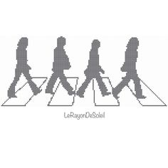 A personal favorite from my Etsy shop https://www.etsy.com/listing/222019917/the-beatles-cross-stitch-pattern-abbey