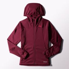 adidas Hiking 1-Side Fleece Hooded Jacket