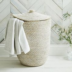 Alibaba Laundry Basket | Laundry & Storage | Home Accessories | Home | The White Company UK