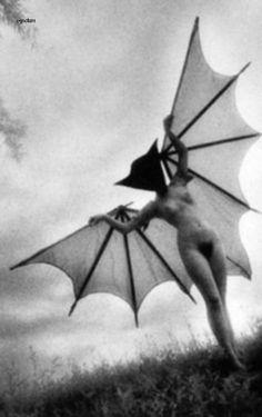 Naked masked bat lady