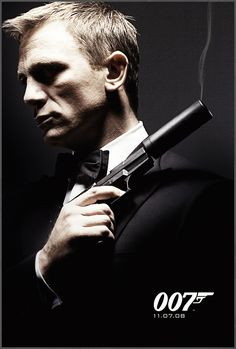Daniel Craig as Ian Fleming's James Bond 007.