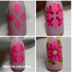 Rocks and MK en Instagra - Best Nail Art Nail Art Diy, Cool Nail Art, Diy Nails, Cute Nails, Butterfly Nail, Flower Nail Art, Beautiful Nail Designs, Beautiful Nail Art, Karma Nails