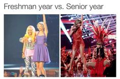 Find images and videos about funny, Taylor Swift and nicki minaj on We Heart It - the app to get lost in what you love. Freshman Memes, Freshman Year, College Humor, Long Live Taylor Swift, Taylor Alison Swift, Funny Relatable Memes, Funny Posts, Freshmen Vs Seniors, High School Memes