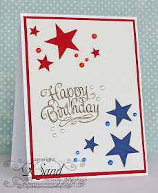 Luv 2 Scrap n' Make Cards: Red White and Blue with GI
