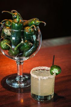Jalapeno margarita and other Cinco de Mayo drinks!