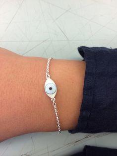 Camilla Prytz // Enamel // third eye Third Eye, Camilla, Enamel, Delicate, Eyes, Bracelets, How To Wear, Accessories, Jewelry