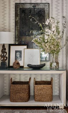 Adding to the inviting appeal of this intimate space are layers of personal objects such as pottery, artwork and books.