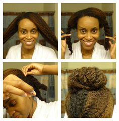 What's easier than scooping your hair into a ponytail, tucking it into a bun and heading out the door? Well, if you're like me and have edges that break with only modest stress, styles like ponytai...