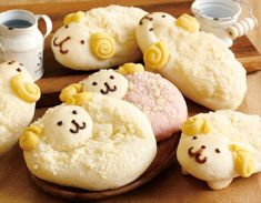 Japanese Bakery Serves Up Adorable Sheep-Shaped Breads for the Chinese Zodiac Year of the Sheep