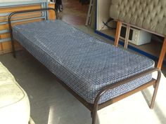 """2ft 6"""" Single Bed Frame With Mattress £15 ----- (PC731)"""