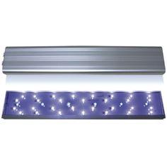 """Eco Sirius Lámparas Led Lámpara de alta iluminación LED con diodos de alta intensidad de """"Luz Dual"""" con interruptores independientes.Recomendadas para acuarios con plantas naturales tipo """"Garden"""" y acuarios marinos """"standard"""" y """"Reef-Aquariums""""."""