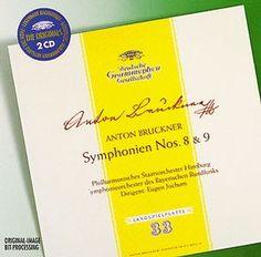 BRUCKNER Symphonien Nos. 8 & 9 - Jochum - Deutsche Grammophon