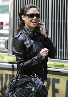 Mike & Chris leather jacket (as seen on Vanessa Minillo).  http://www.ortutraders.com/mike-chris/