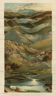 Kolaj Magazine is interested in all things collage. This is our directory of artists. Mountain Landscape, Landscape Art, Landscape Paintings, Collages, Collage Art, Illustrations, Illustration Art, Paper Artwork, Abstract Nature