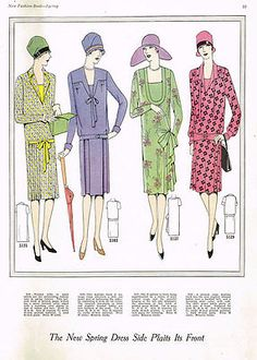 1920s VTG Ladies Home Journal Sewing Pattern 5135 Uncut Misses Flapper Dress 34B