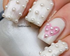 Items similar to Gold & Silver Metallic  Studs Nail Art YD081GS - This seasons must have nails. on Etsy